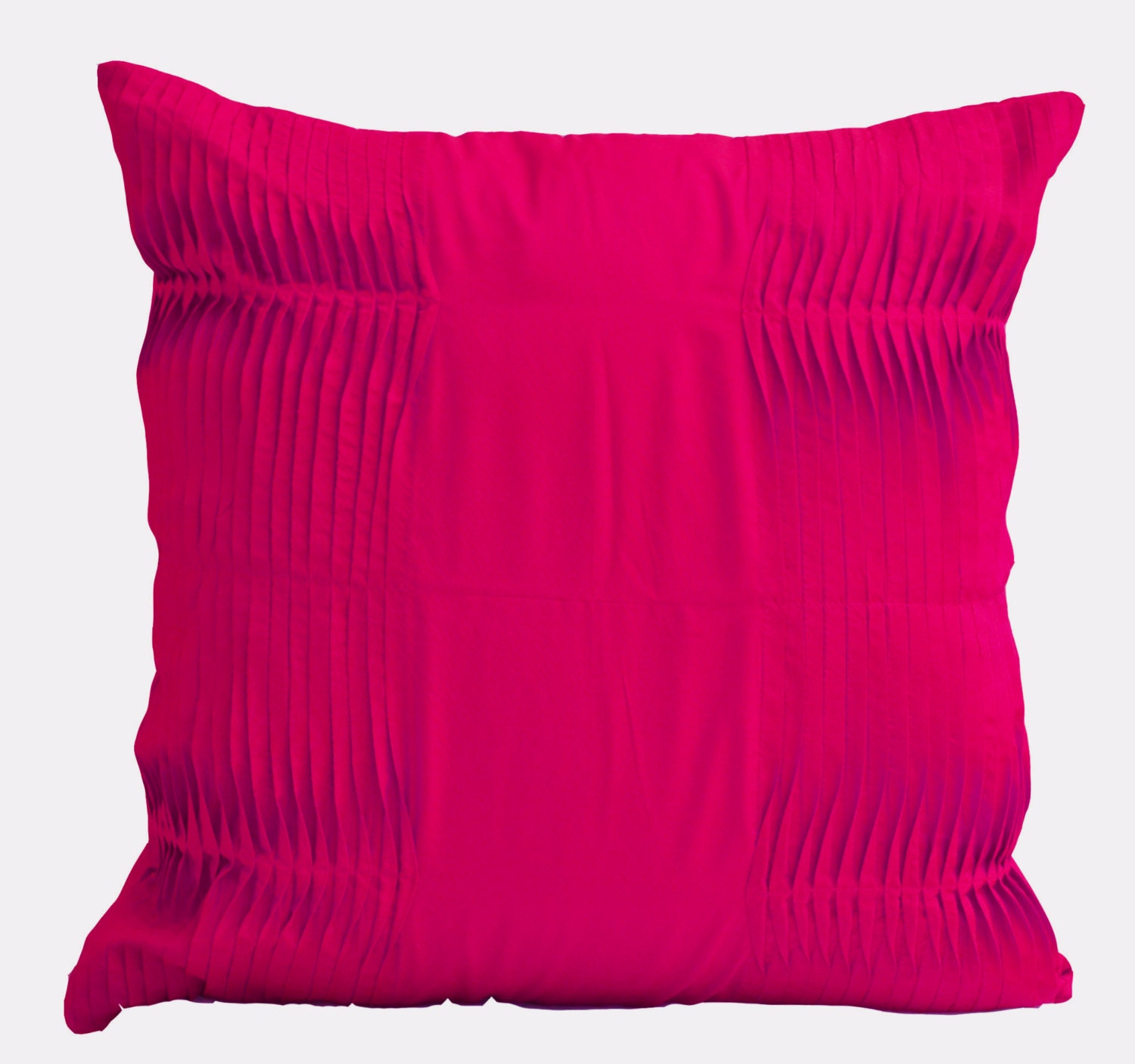 Decorative cushion Fuchsia pillow cover Cotton Throw pillow