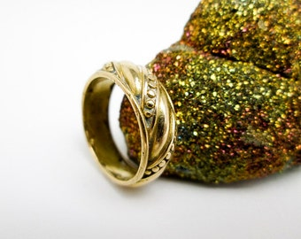 Ring, William Spratling, 18K Gold, 1950s Signed William Spratling, Extremely Rare, Spratling Ranch, Taxco Mexico.
