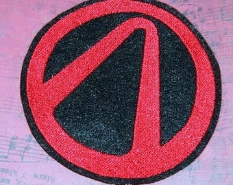 Borderlands Vault Symbol Iron On Embroidery Patch MTCoffinz