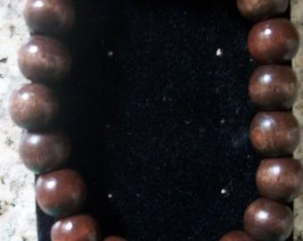 Clear Earthen Bracelet