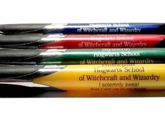 Hogwarts House Pen