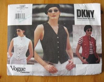SUNDAY  SALE   -  Vogue 1257 DKNY Pattern