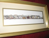 "STOCKBRIDGE MASSACHUSETTS -Leonard Weber Print 7"" X 13"""
