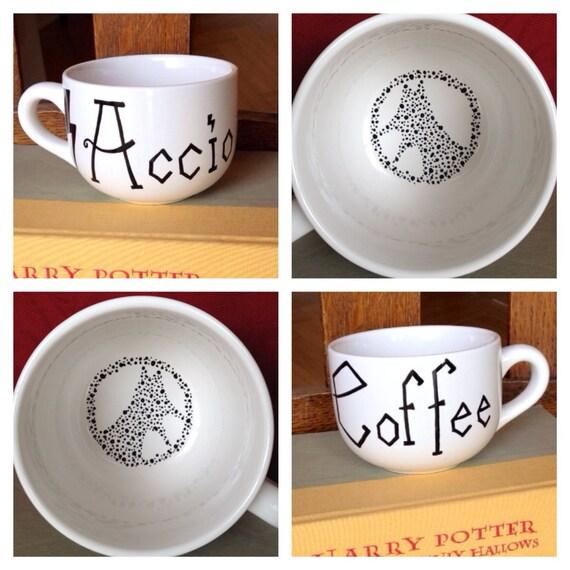 "Harry Potter ""Accio Coffee"" Mug with Grim"