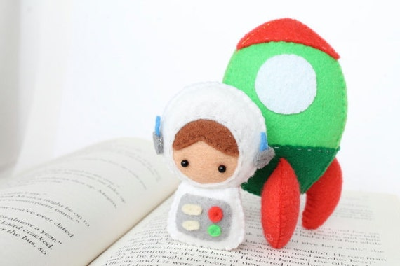 Patterns: Felt Astronaut Doll and Rocket Plush