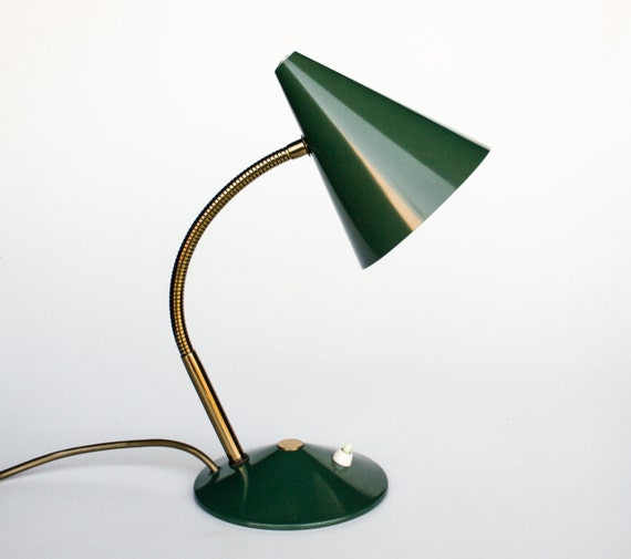 Vintage Gooseneck Table Lamp Desk Lamp Bedside Lamp – Gooseneck Desk Lamps