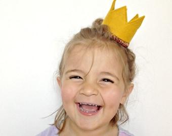 Birthday Crown Birthday Hat Gold Photo Prop