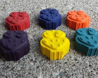 6pk. Owl Crayons