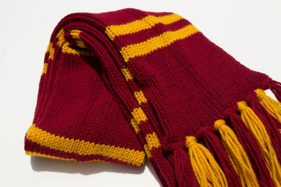 harry potter house scarves not ready to by overduemuse on etsy