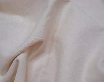 5 yards Natural Cream Denim Upholstry fabric Slipcover Washable Home Decor yardage