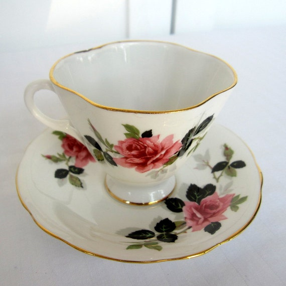 Windsor bone china tea cup and saucer set made in england for Mode in england