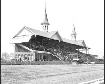 Kentucky Derby  1900s - Print