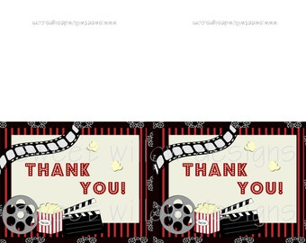 Thank you cards Instant download-By Sweet Willow Designs