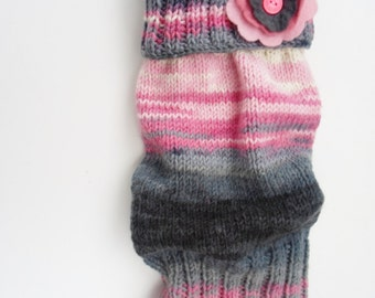 hand knit leg warmers free worldwide shipping, ready to ship