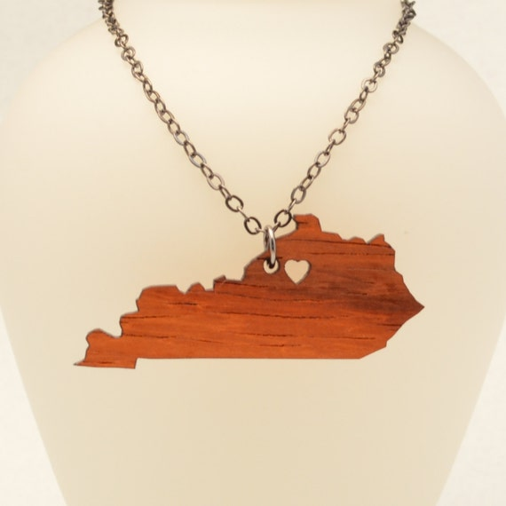 wood state necklace kentucky or any state going
