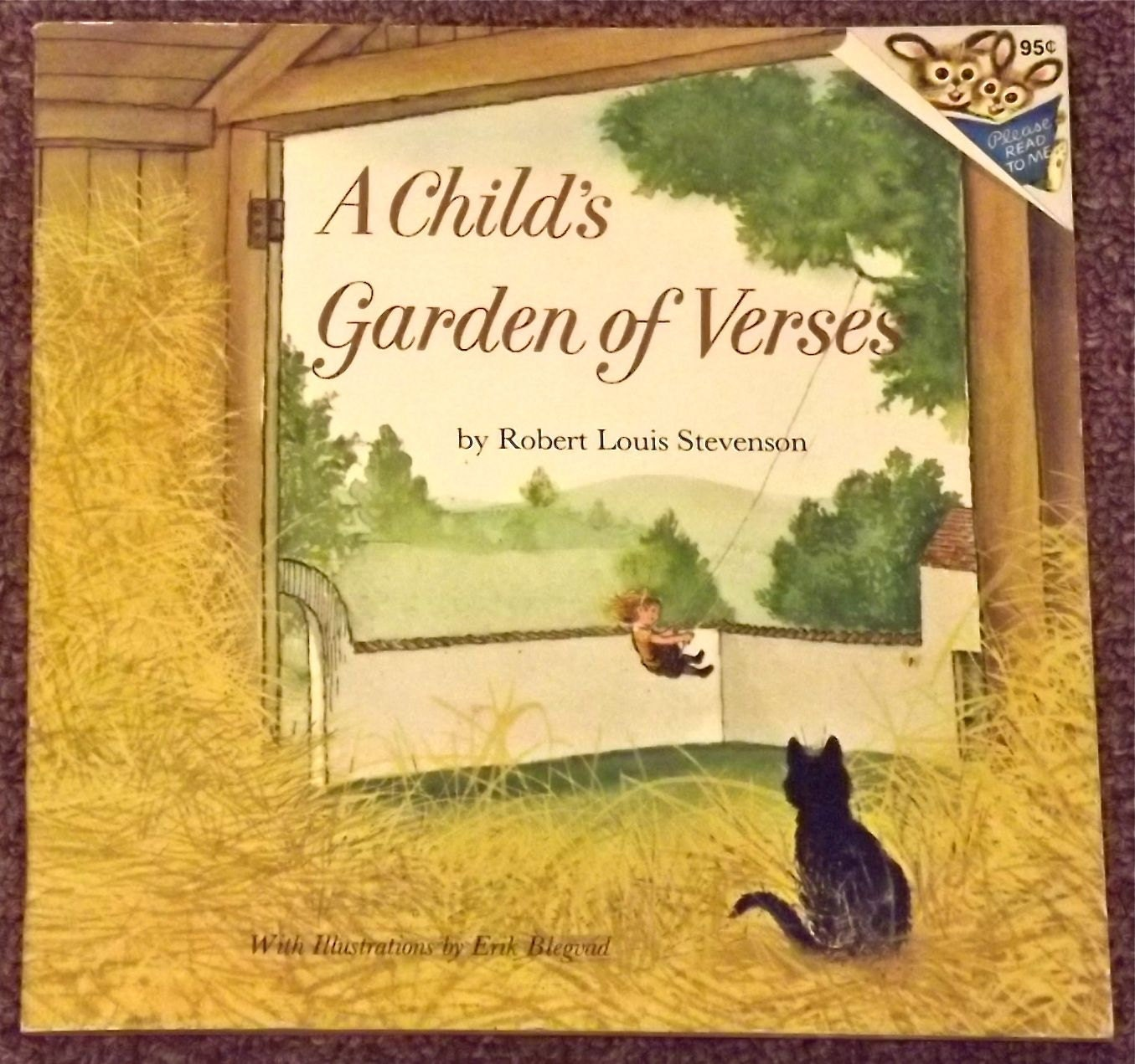 A Child 39 S Garden Of Verses By Robert Louis Stevenson And