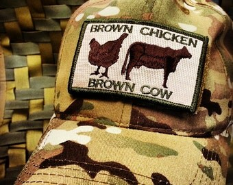 Brown Chicken Brown Cow Classic Morale patch