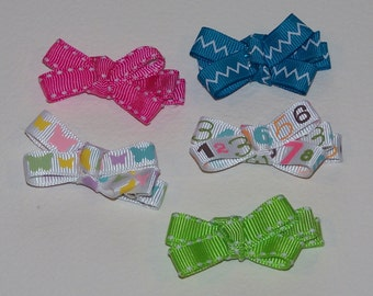 Spring Collection Clippie Set - 1 3/4 inch bows