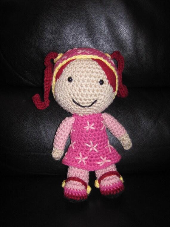 Free Crochet Pattern Umizoomi : PATTERN for Crochet MILLI Inspired doll Team Umizoomi