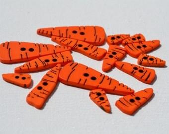 Carrot buttons