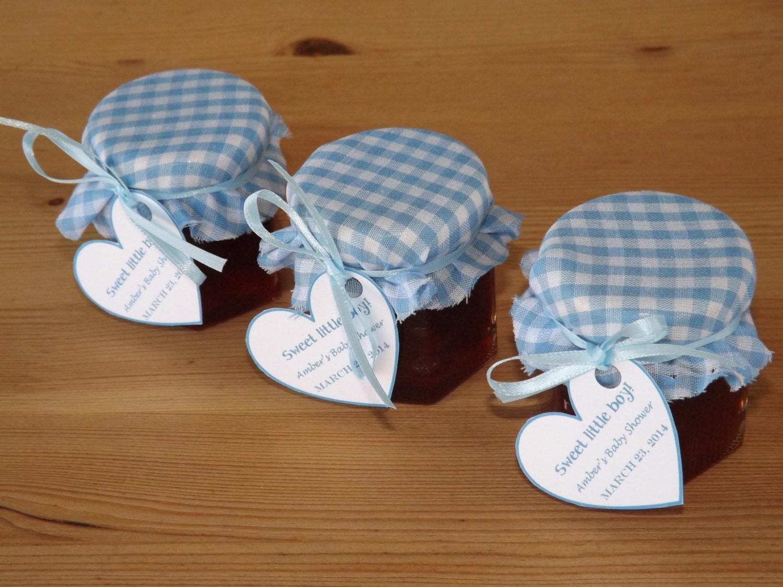 Set Of 12 Baby Shower Favors Jam Jar Favors Christening