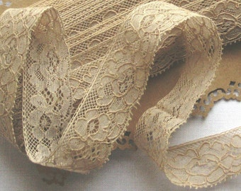 French Vintage Lace Edging - 23mm wide - 5 metres/yards
