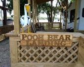 Wooden Outdoor Cedar Signs