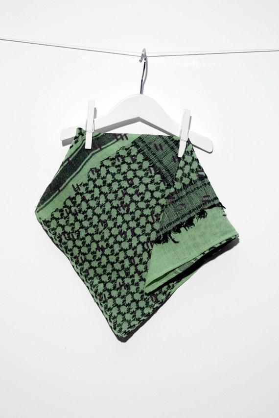 Pistachio scarf / pistachio scarf