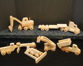 Heavy Equipment 7pc Set (057)
