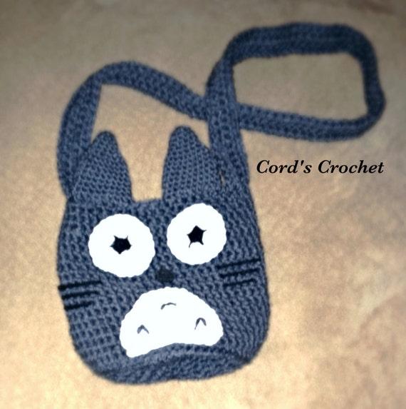 Totoro Small Crochet Purse