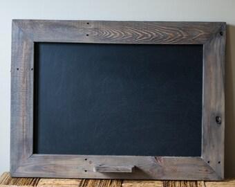 Reclaimed Barn Wood Chalkboard