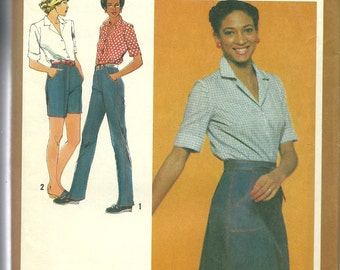 Simplicity 9543 3 Women's Casual Outfits