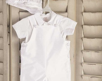 Johnny Overall's Christening Outfit for Baby Boy's