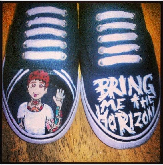 Bring Me The Horizon Vans Shoes