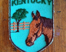 Kentucky Vintage Souvenir Travel Patch by Voyager