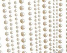 Hanging Pearl Curtain Pearl Backdrop Pearl Wedding Decor Hanging Pearls Great Gatsby Wedding Downton Abbey Wedding Pearl Curtains