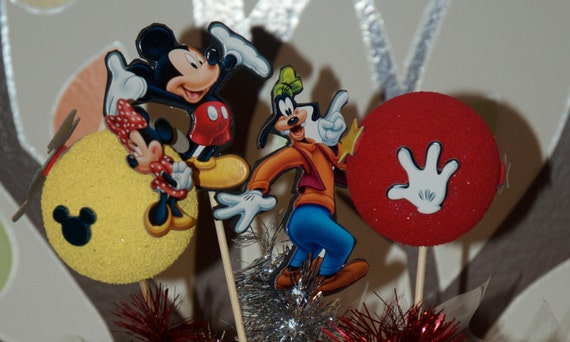 Mickey Mouse table decoration or center pieces