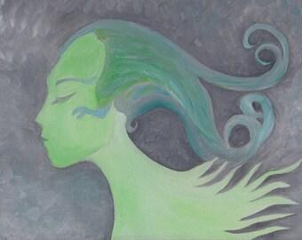 Beautiful Alien Woman