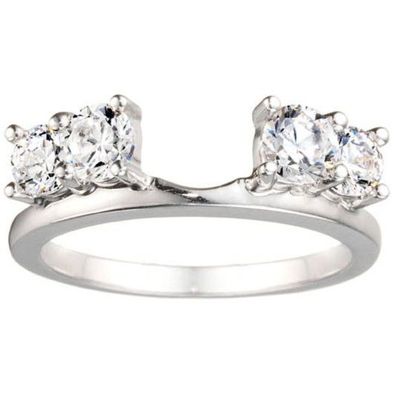 Diamond Solitaire Enhancers Ring Guards