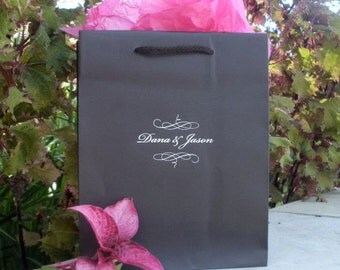 Personalized Hotel Wedding Welcome Bags