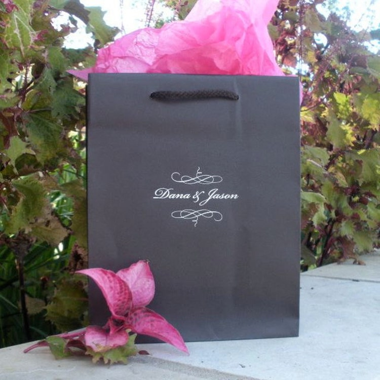 Custom Welcome Bags For Hotel Wedding Guests By Graciousbridal