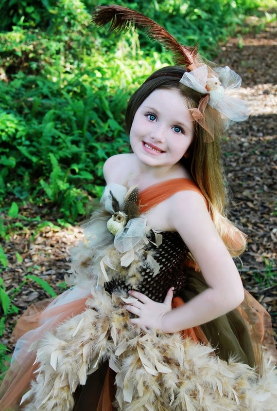 Enchanting Couture Boutique Owl Halloween by PoshBabyGirlTutus - Boutique Halloween Costumes