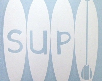 Paddleboard Decal- SUP on Paddleboards