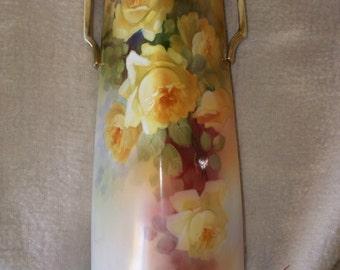 1940s-1950s Square Nippon China Vase