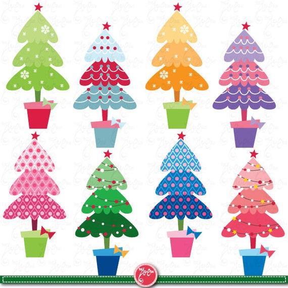 Christmas clipart quot tree pattern clip art