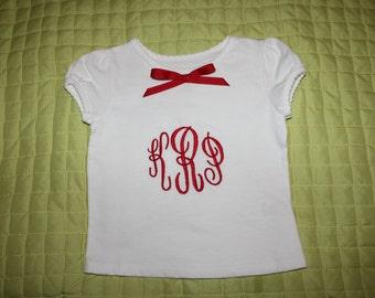 Child's Monogrammed Shirt