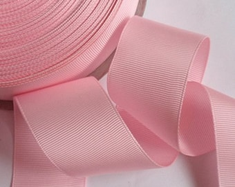 5 yards 1.5 inches Grasgrain Ribbon in Pink RG-15-12