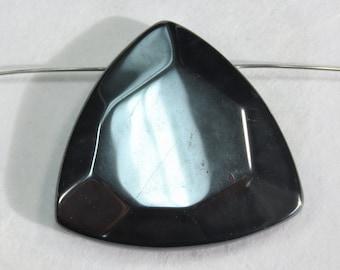 Hematite Briolette Bead - Item 983