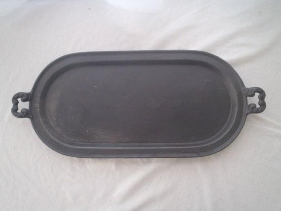 Silver Tray Repurpose Vintage