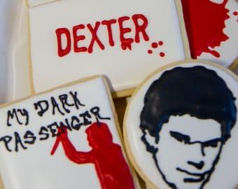 One dozen Dexter cookies